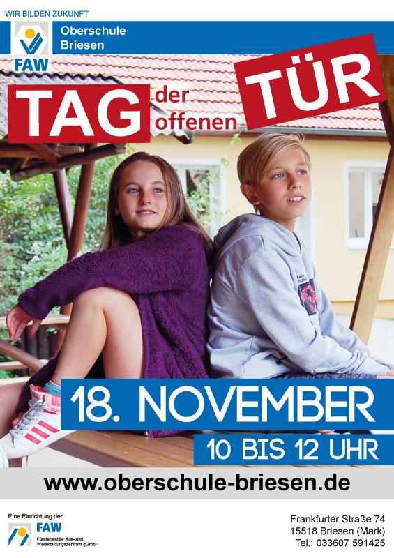Oberschule Briesen_Tag der offenen Tür am 18. November 2017