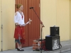 Frau Dr. Werner begrüßt unsere neue 7. Klasse