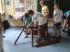 Siebtklässler bauen die da-Vinci-Brücke