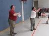 Volleyballtraining mit Herrn Kurz