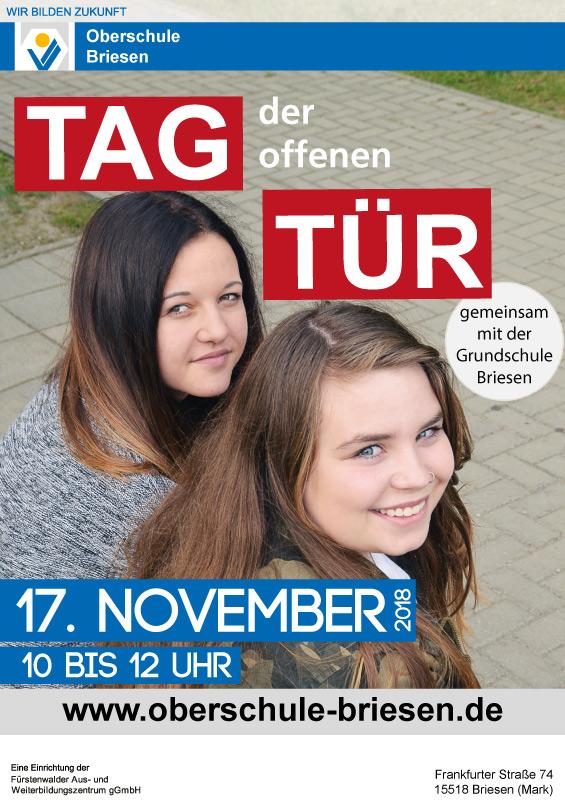 Oberschule Briesen_Tag der offenen Tür am 17. November 2018